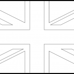 United Kingdom Flag Colouring Page