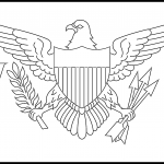 United States Virgin Islands Flag Colouring Page
