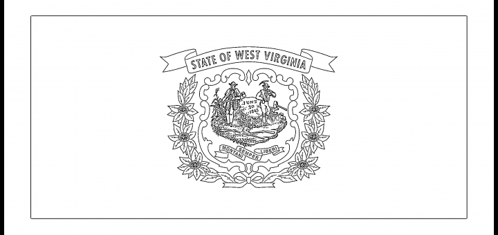 West_Virginia_Flag_Coloring_Page