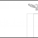 Zambia Flag Colouring Page